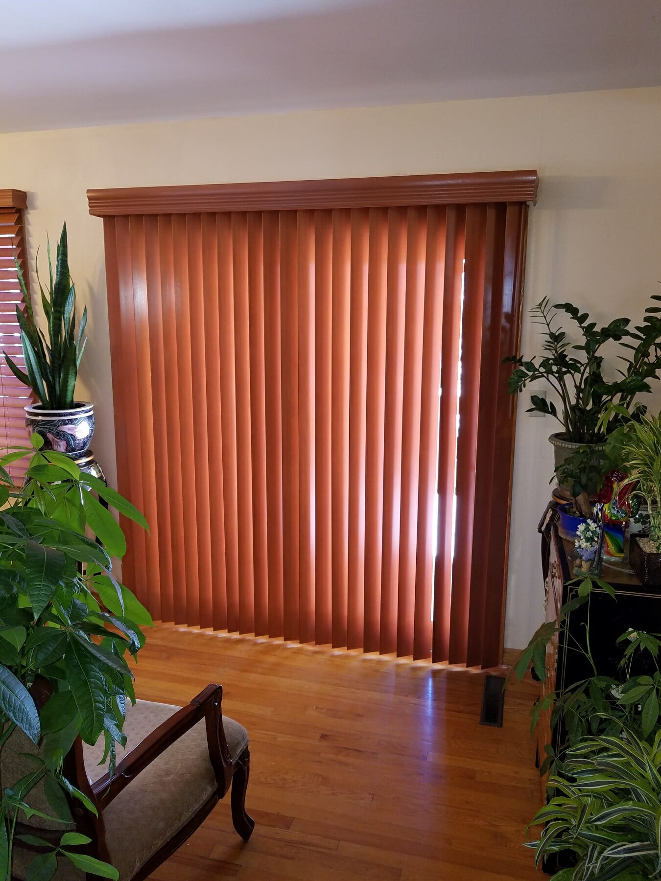 Wood Vertical Blinds Colorado Springs Castle Rock New View Blinds